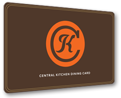 Central Kitchen Dining Card